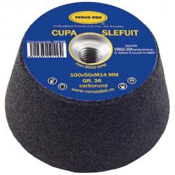 CUPA SLEFUIT 100 x 50 x M14...