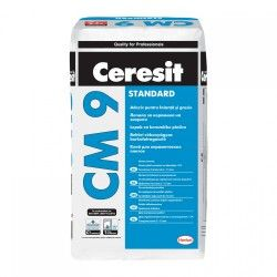 Adeziv gresie și faianță Ceresit CM9, pentru interior, 25 kg