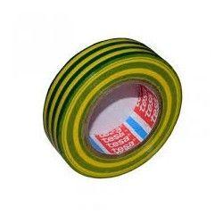 Bandă izolatoare 20m galben/verde