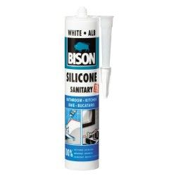 SILICON BISON SANITAR ALB 280ML