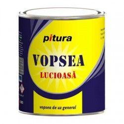 Vopsea Pitura lemn/metal  interior/exterior albastru 0.6l