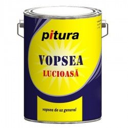 Vopsea Pitura lemn/metal  interior/exterior negru 4l