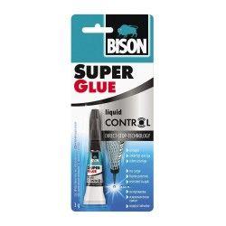 BISON Super Glue Control Adeziv cianoacrilat 3g