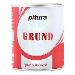 Grund pentru metal PituraG5180-1, interior / exterior, gri deschis, 4 L