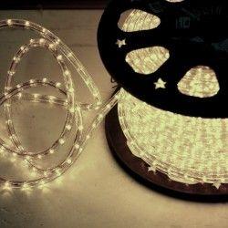 Cablu luminos LED Hoff alb interior / exterior 13 mm