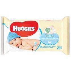 Servetele umede Huggies Pure 56 buc