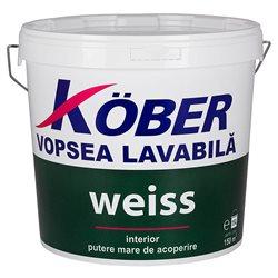 Vopsea lavabilă interior Weiss 8.5l