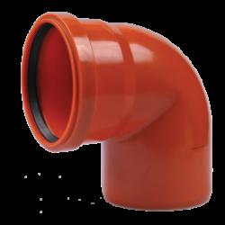 COT PVC 110- 90* PORTOCALIU