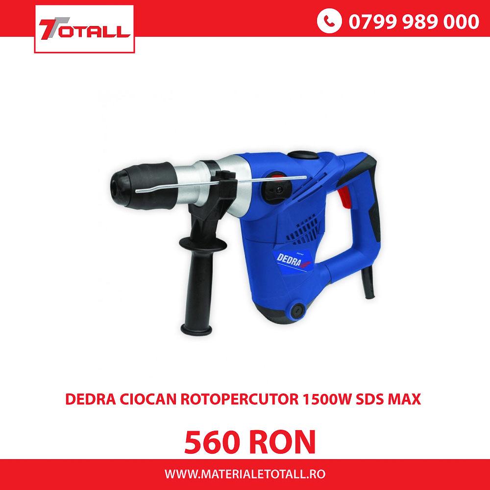 DEDRA CIOCAN ROTOPERCUTOR 1500W SDS MAX