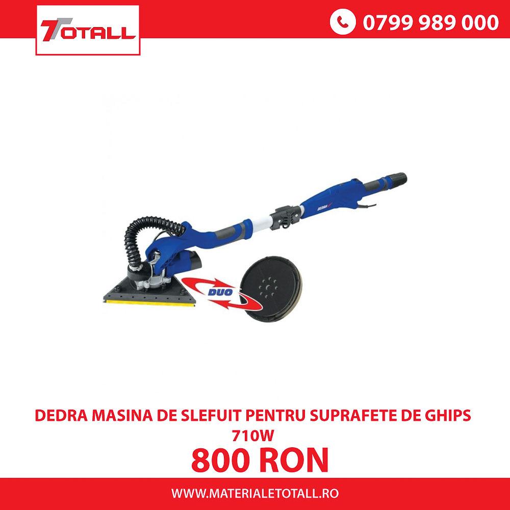 DEDRA MASINA DE SLEFUIT PENTRU SUPRAFETE DE GHIPS 710W