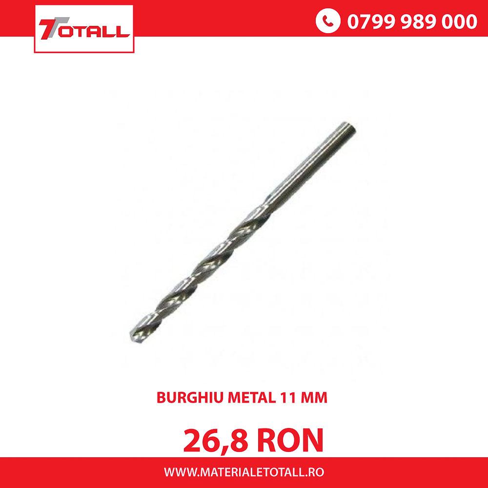 BURGHIU METAL HSS 11 mm